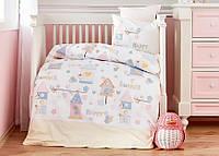 Постельное белье в детскую кроватку Karaca Home. Happy-Детский в кроватку