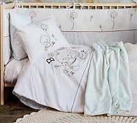 Постельное белье в детскую кроватку Karaca Home. Baby Ducks-Детский в кроватку