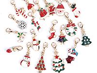 Кулон для цепочки, для браслета, для колье, ожерелья, шармы, Новогодняя тематика, подарок на Новый год