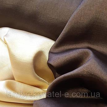 Ткань портьерная атласная для штор компаньонов