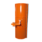 Лопата отвал к мотоблоку 1,5 м ТМ Булат ( для мотоблоков с воздушным и водяным охлаждением), фото 4