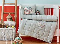 Набор в детскую кроватку Karaca Home. Pancake su yesil-Детский в кроватку