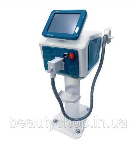 Діодний лазер для видалення волосся за 3 довжинами хвилі 755 нм, 808 нм, 1064 нм, апарат для видалення волосся на обличчі
