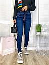 Теплые женские джинсы на флисе New jeans 0591, фото 2