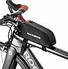 Велосипедная сумка мини на раму Rockbros для смартфона до 6 дюйма