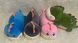 Плед детский + игрушка динозаврик подушка 3в1 оптом, фото 2