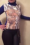 Стильные красивые полушерстяные женские свитера, гольфы, водолазки Cavalli, фото 2