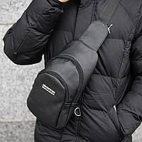 Мужская сумка на грудь Philipp Plein Bazer слинг, фото 1
