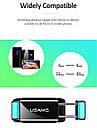 Автодержатель для телефона универсальный Usams антискользящий Черно-зеленый (US-ZJ045-BL-GN), фото 7