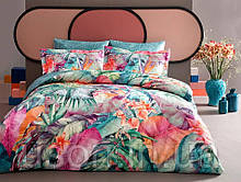 Комплект постельного белья  Тм TAC сатин-бамбук JUPITER семейный