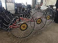 Сеноворошилка Солнышко на 3 колеса ТМ АРА (3 точки, мототрактор)