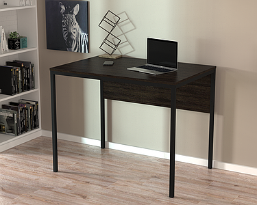 Письменный стол Loft design L-2p mini Венге Корсика