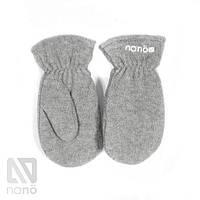 Рукавицы флисовые Grey  NANO