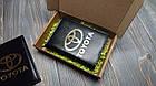 Шкіряна обкладинка для автодокументів з логотипом Skoda, фото 6
