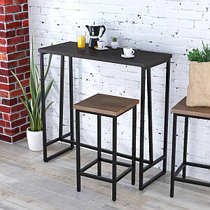 Барный стол BS-110 Loft Design Венге Корсика