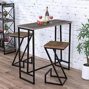 Барный стол BS-110 Loft Design Дуб Палена