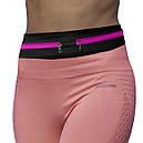 Сумка – пояс Run для бега на 2 кармана Фиолетовый (HJkhwd59), фото 4