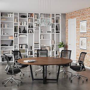 Стол для переговоров D-2000 Loft design Орех Модена