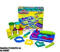 Ігровий творчий набір пластиліну Плей-дох Магазин печива XS0307