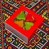 Новогодний набор восковых чайных свечей Ёлочка (4шт.), фото 7