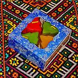 Новогодний набор восковых чайных свечей Ёлочка (4шт.), фото 5