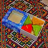 Новогодний набор восковых чайных свечей Ёлочка (4шт.), фото 4