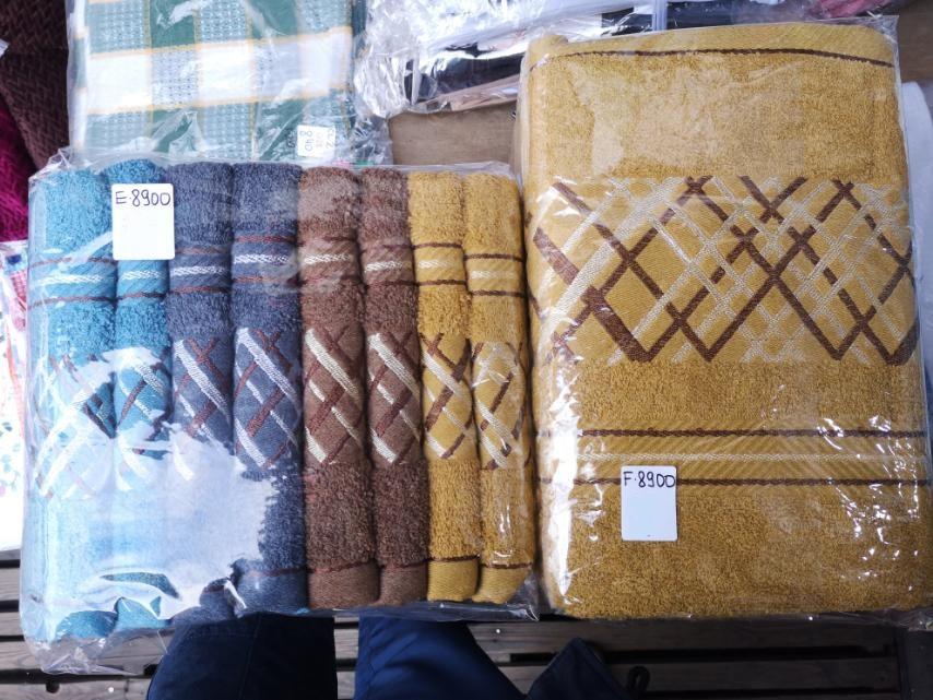 Рушник банний махровий 70 на 140 см (від 6 шт)
