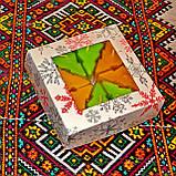 Новогодний набор восковых чайных свечей Ёлочка (8шт.), фото 5