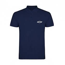 Поло Шевроле (Chevrolet) мужское, тенниска Шевроле, мужская футболка Шевроле, Турецкий хлопок, копия