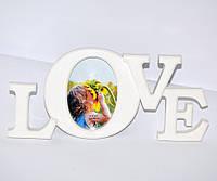 "Настольная фоторамка ""Love"""