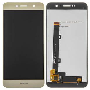 Модуль Huawei Y6 Pro золотистый Original