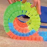 Led Magic tracks 220 деталей гибкая гоночная трасса гоночный трек для малышей дорога игрушка для мальчиков, фото 9