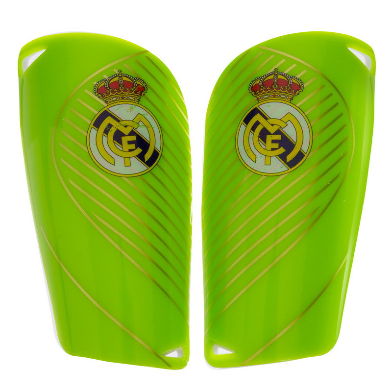 Щитки футбольні REAL MADRID FB-6850 розмір L