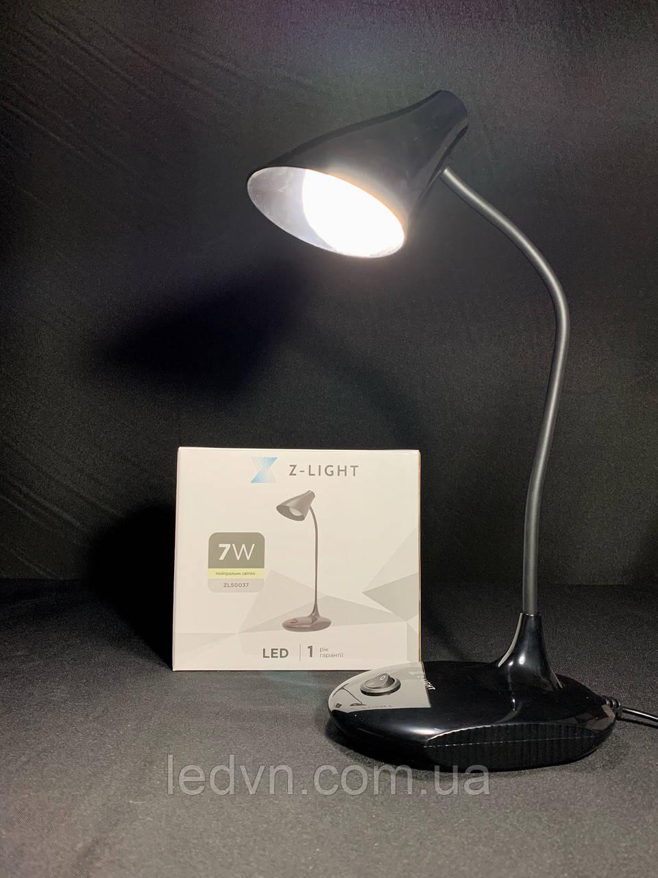 Настільна світлодіодна лампа 5 ват біла