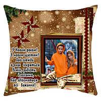 Новогодняя мини-подушка, подарок на Новый Год, фото 1