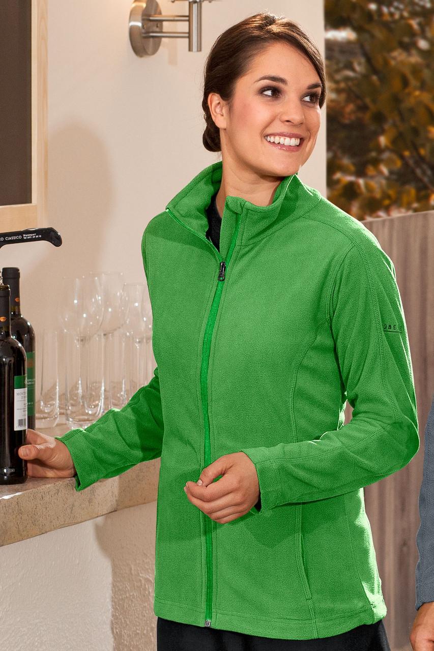 Кофта флисовая для официанта зеленая TEXSTYLE