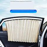 """Универсальные автомобильные солнцезащитные шторки  (шторы) """"VIP - Prestige"""", фото 3"""