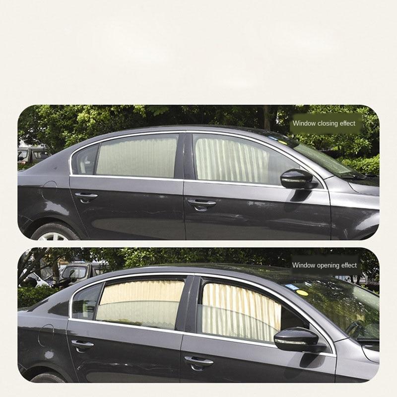 """Универсальные автомобильные солнцезащитные шторки  (шторы) """"VIP - Prestige"""""""