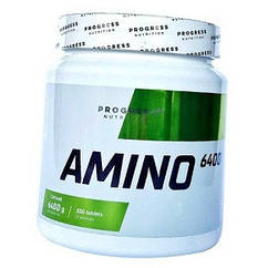 Аминокислоты Progress Nutrition Amino 6400 (300 таблеток.)