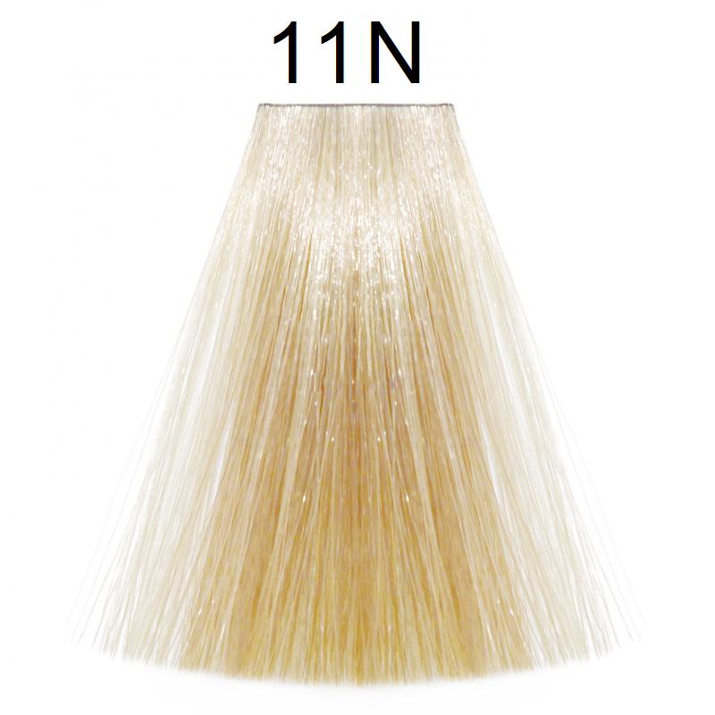11N (ультра светлый блондин натуральный) Тонирующая крем-краска для волос без аммиака Matrix Color Sync,90 ml