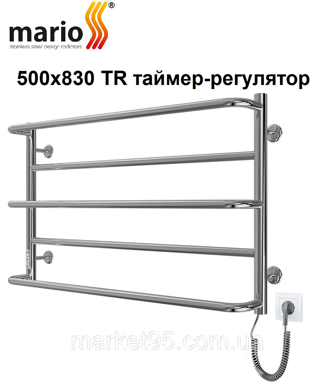 Электрический полотенцесушитель Mario Люкс Сити 500х830 TR таймер-регулятор