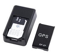 GPS трекер JustAuto GF-07 автономный мини маячок, фото 1
