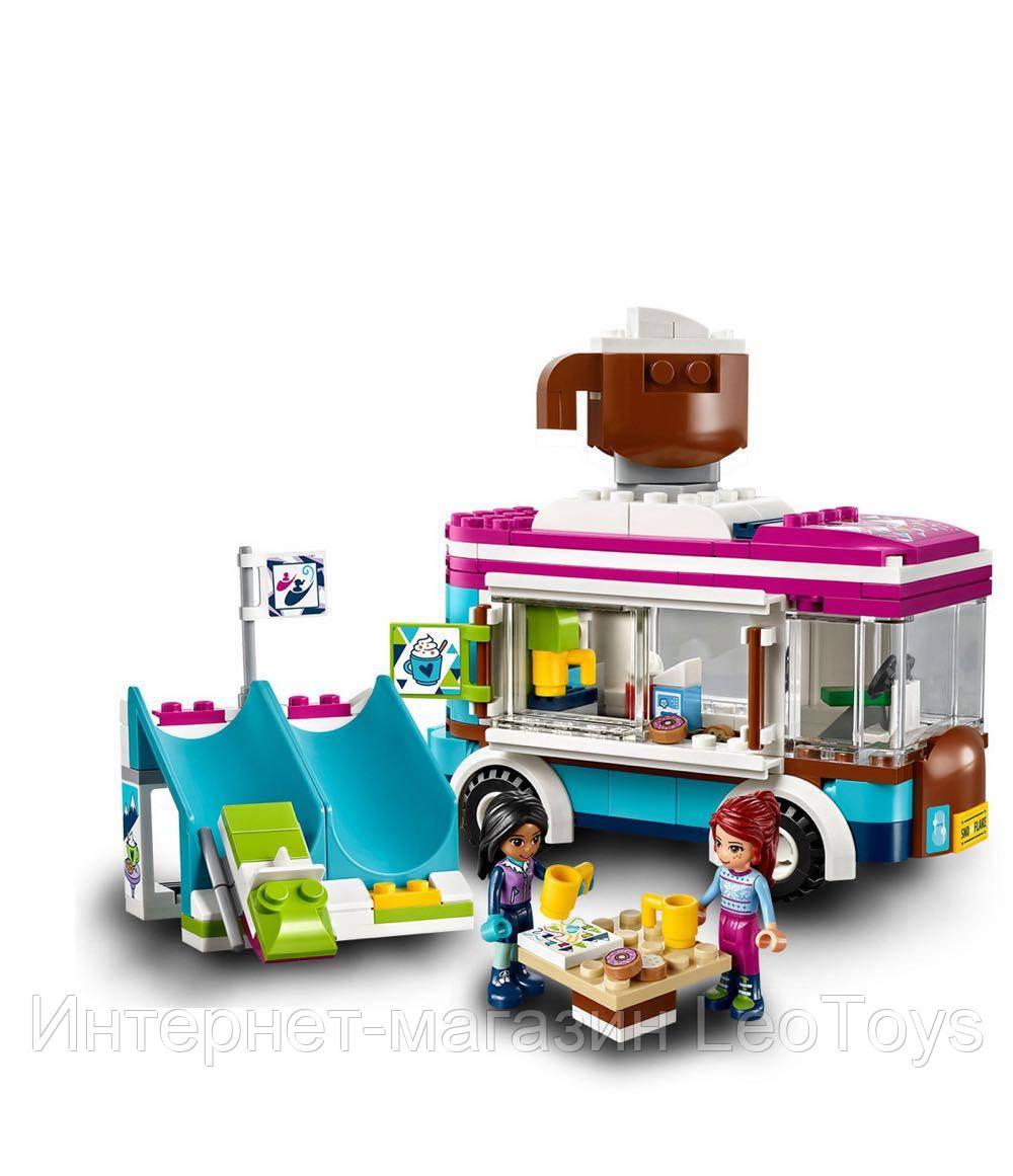 Конструктор Lepin 01048 Горнолыжный курорт: Фургончик по продаже горячего шоколада