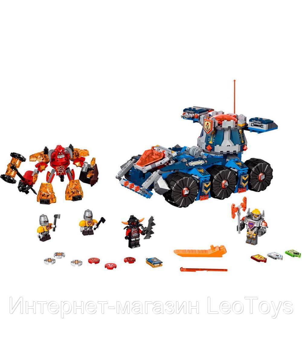 Конструктор Lepin 14022 Башенный тягач Акселя