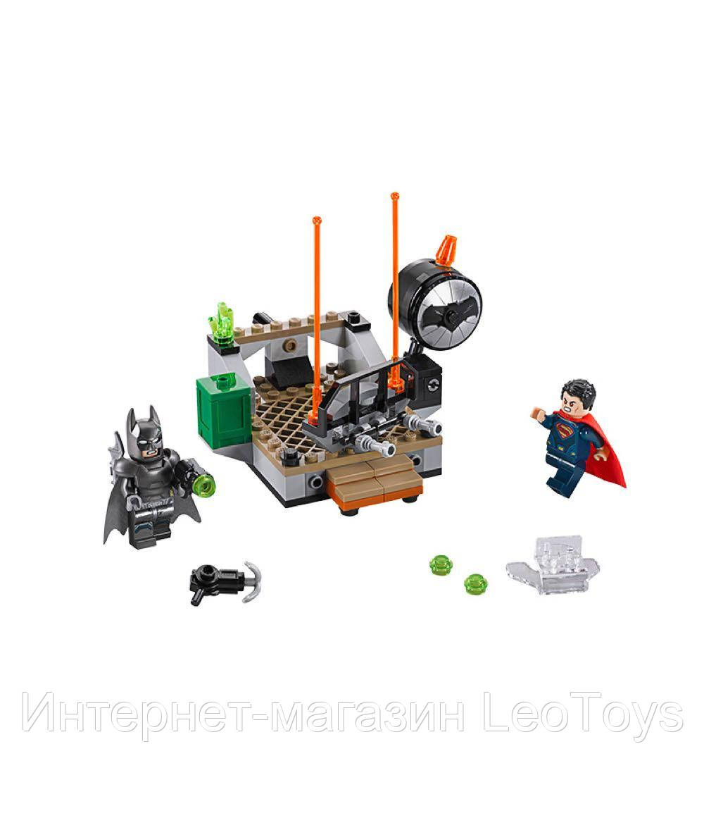 Конструктор Lepin 07017 Бэтмен против Супермена: Битва супергероев
