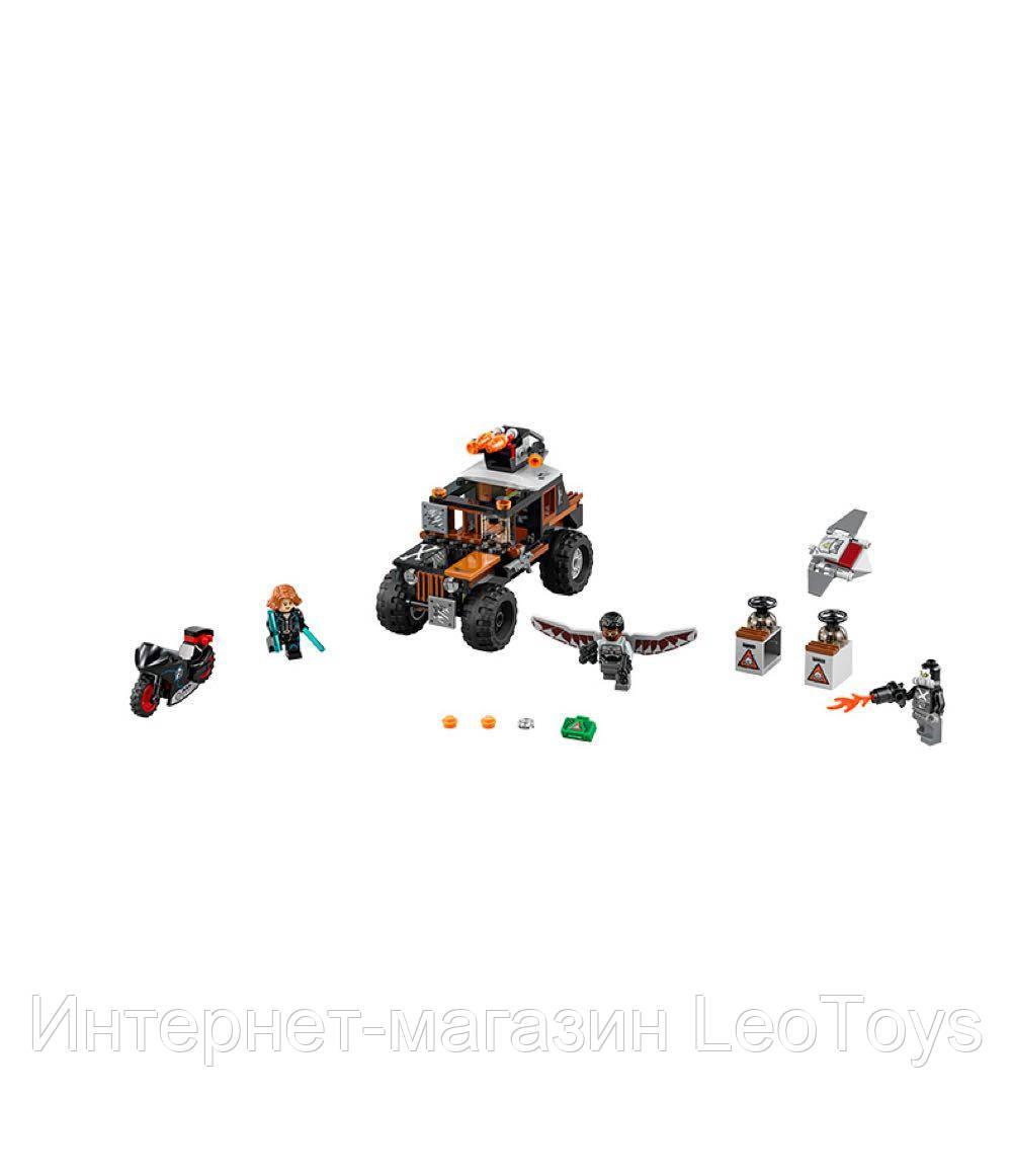 Конструктор Lepin 07031 Опасное ограбление Кроссбоунса