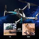 Квадрокоптер Visuo ZEN K1 +Кейс GPS Дрон с 4K 27 мин 2 камеры дист 1км., фото 9