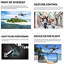 Квадрокоптер Visuo ZEN K1 +Кейс GPS Дрон с 4K 27 мин 2 камеры дист 1км., фото 3