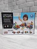 Магнитный конструктор цветные магниты Play Smart 2426, фото 2