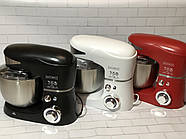 Кухонний тістоміс міксер планетарний Royalty Line 1600 Вт, фото 7
